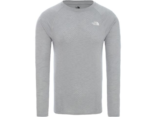 The North Face Actice Trail Jacquard Langærmet skjorte Herrer, tnf light grey heather